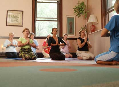 Carol Williams Yoga Class In Cleveland Ohio